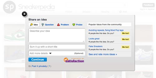 Clicking on the 'Feedback' button at the top right of the page will allow you to submit errors and/or suggestions.