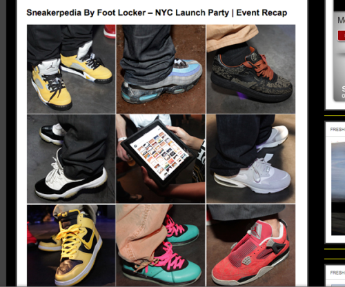 sneakerpedia coverage fresh