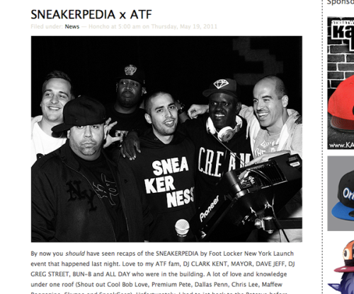 sneakerpedia coverage sf