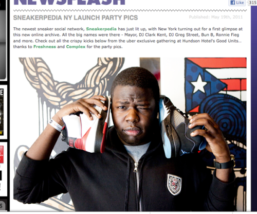 sneakerpedia coverage snkfrk