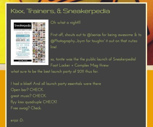 sneakerpedia coverage tsb