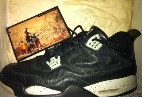 """Air Jordan 4 """"Oreos"""""""