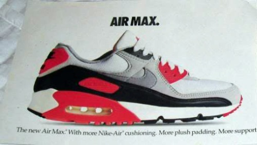 Air Max 90 Infrared Ad