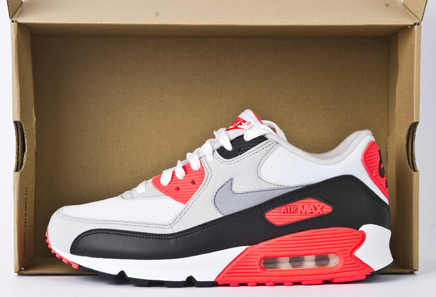 Nike Air Max 90 Hyperfuse Infrared Shoes
