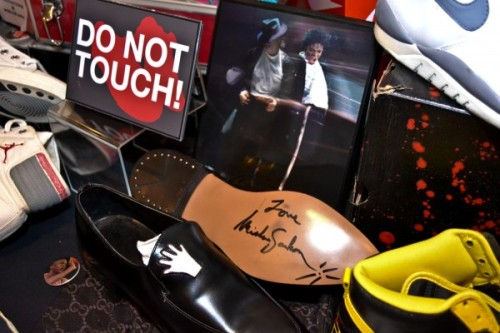 Cincy Sneaker Showcase: Michael Jackson's shoes.