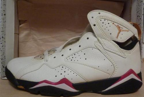 """Air Jordan 7 """"Cardinal"""" Original 1992"""