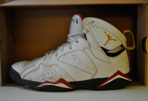 Jordan 7 Cardinal Retro from 2006