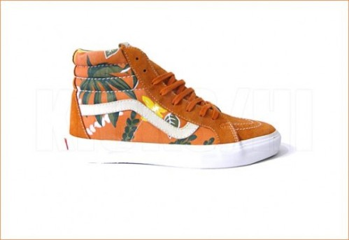 Vans Vault Sk8-Hi from the Aloha Pack, inspired by Jeff Spicoli?