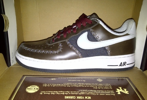 Nike Air Force 1 New York Cubans uploaded by nd2cool4u.