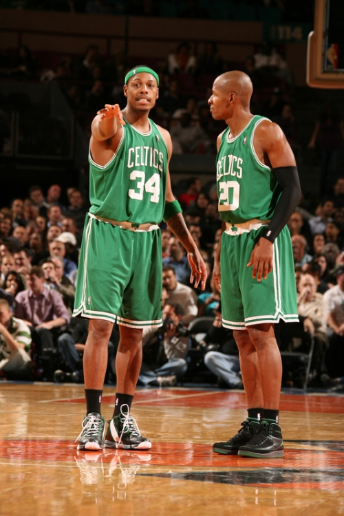 Ray Allen wearing Air Jordan II (2) P.E.