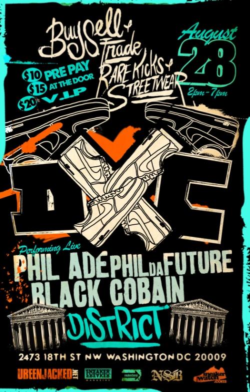 DunkXChange Washington D.C. August 28th