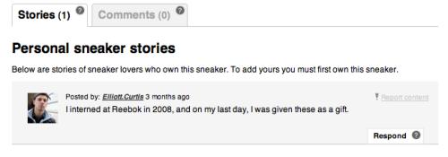 Reebok Omni Pump Sneaker Story