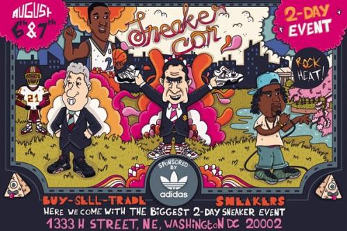 Sneaker Con Washington D.C. August 6th-7th