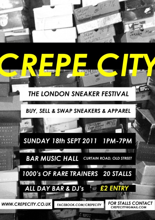 Crepe City London September 18th