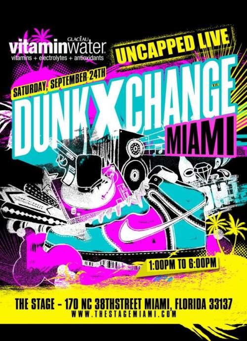 DunkXChange Miami September 24th