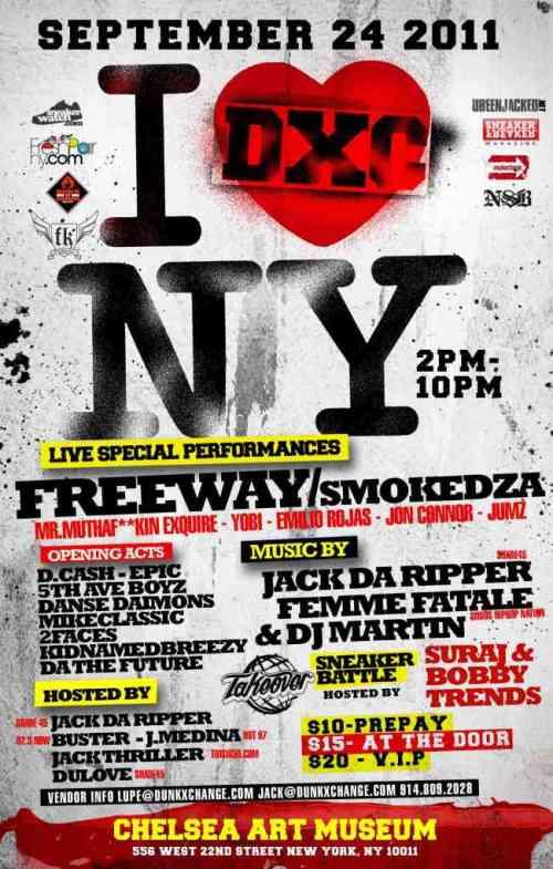 DunkXChange New York September 24th