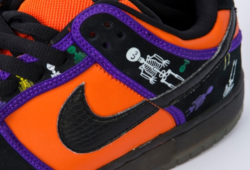 Mexico Inspired Sneakers: Nike Dunk Low Dia de Los Muertos uploaded kid_sneakerness.