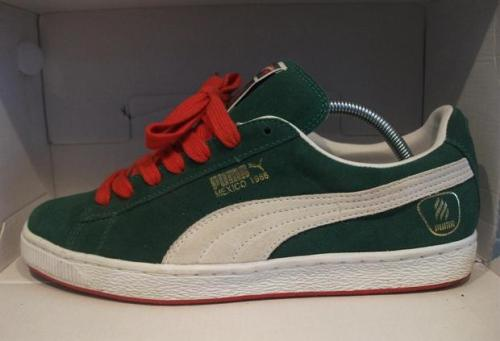 Mexico Inspired Shoes: PUMA Suede Mexico 68 uploaded by measel