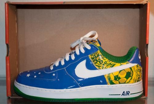 "Nike Air Force 1 ""Ronaldinho"" uploaded by yrSOLES."