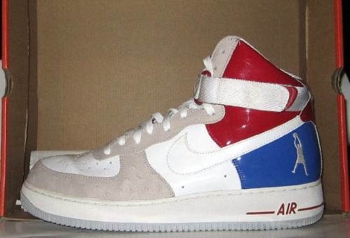"Nike Air Force 1 High ""Sheed"" All-Star Game PE uploaded by .jpg"