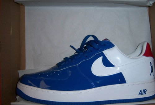 "Nike Air Force 1 Low ""Sheed"" Blue Jay_White-Varsity Red uploaded by Miltonsbest1"