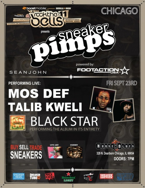 Sneaker Pimps Chicago September 23rd