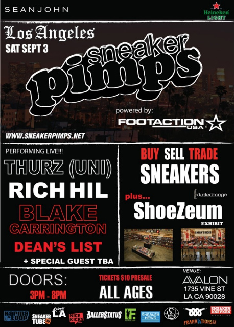 Sneaker Pimps L.A. September 3rd
