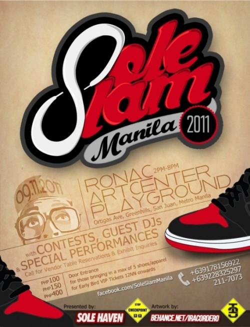 Sole Slam Manila 2011 September 11th