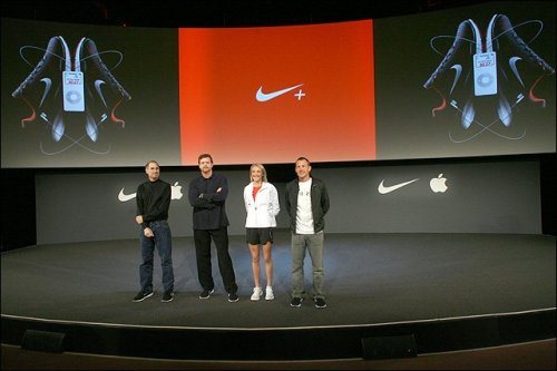 Apple and Nike Air Zoom Moire