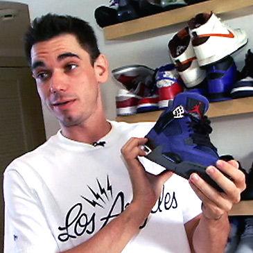 #sneakerholic DJ AM and his Air Jordan 4 Eminems