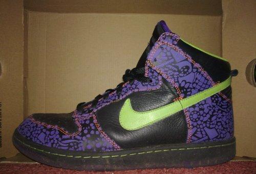 "Nike Dunk High ""Dia De Los Muertos"" uploaded by Frank Ellard."