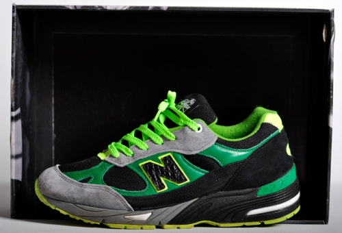 New Balance 991 Green/Black-Grey uploaded by Ghettrocentricity