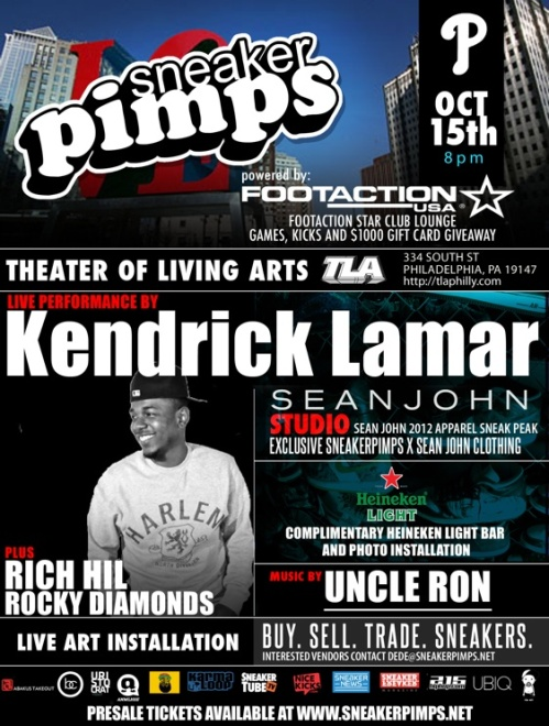 Sneaker Pimps Philadelphia October 15th
