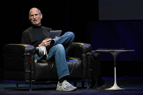 Steve Jobs New Balance iPad