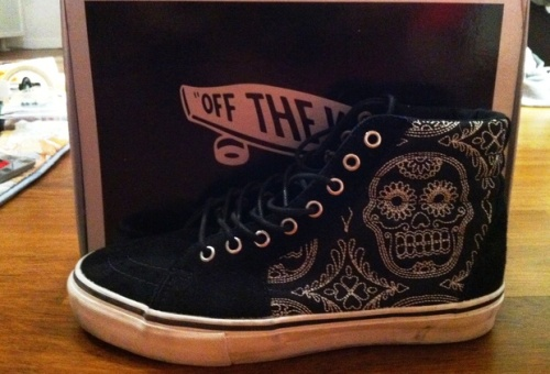 "Vans Sk8 Hi ""Day of the Dead"" uploaded by GiammaSneakers"
