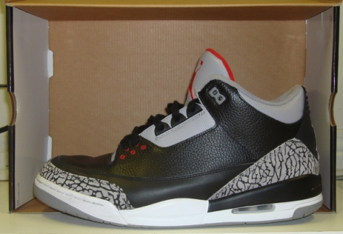 Air Jordan Retro 3 2008 CDP uploaded by MarkDelete