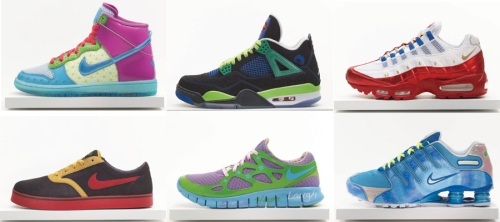 2011 Nike x Doernbecher Freestyle Collection thanks to Inside the Sneakerbox.