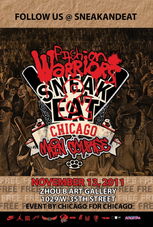 Sneak & Eat Chicago November 13th