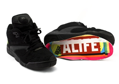 Alife Reebok Court Victory Pump Black/Neon