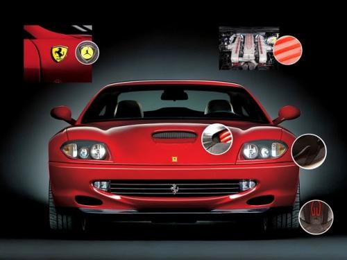 Air Jordan 14 Inspiration - Ferrari 550 courtesy of kenlu