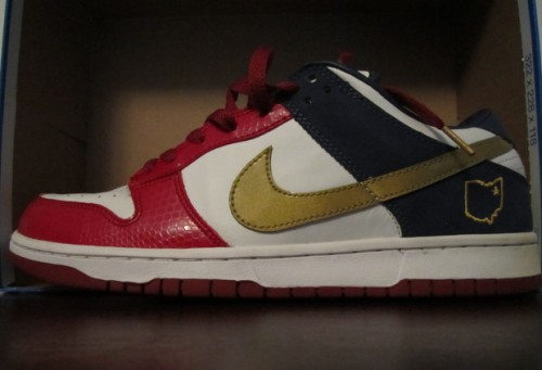 Nike Dunk Low LeBron Akron uploaded by mongol
