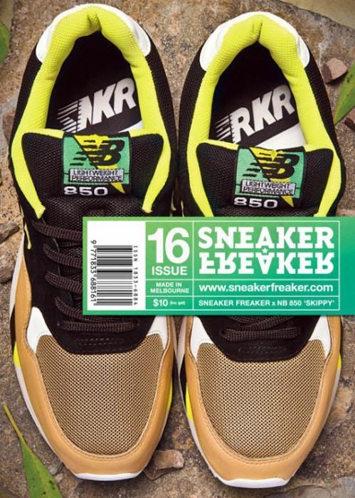 """Sneaker Freaker x New Balance 850 """"Skippy"""" Cover"""