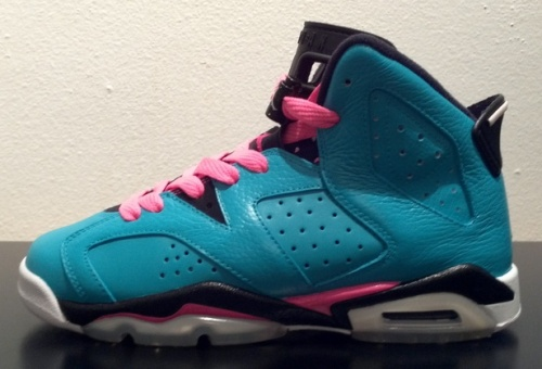 South Beach Jordan 6 uploaded by J_EN_V