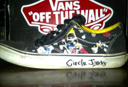 Circle Jerks x Vans Old Skool uploaded by chuckvans