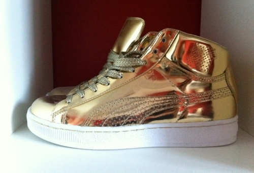 UNDFTD x Puma Suede Mid 24K Collection Gold uploaded by B.Goode