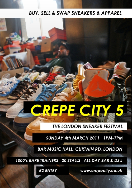 Crepe City 5 London March 5th