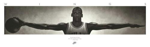 Jordan Wings Poster