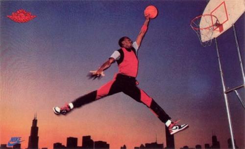 Jumpman Air Jordan Nike Poster