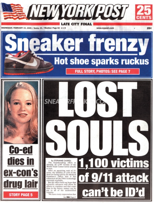 New York Post February 22nd 2005