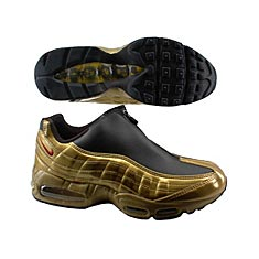 best service 197e4 41e56 Nike Air Max 95 Z Zip Metallic Gold